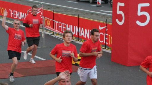 Nike Human Race 2008 półmetek