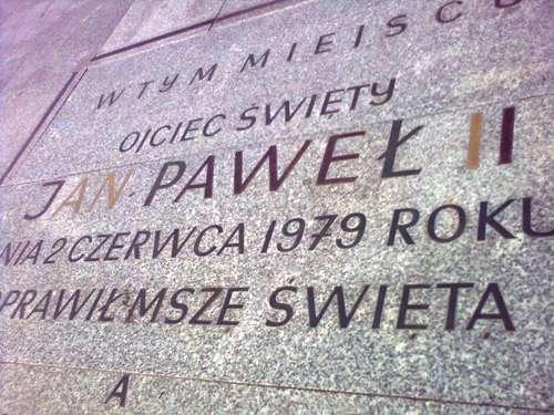 Grób Nieznanego Żołnierza - Jan Paweł II