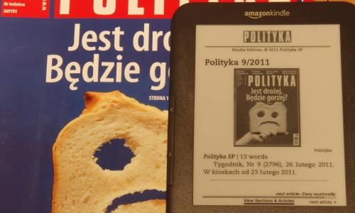 Kindle Polityka 1