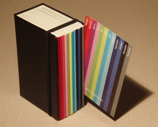 Moleskine Colour a Month Pocket Daily Planner 0