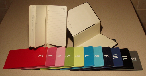 Moleskine Colour a Month Pocket Daily Planner 1