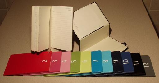 Moleskine Colour a Month Pocket Daily Planner 1