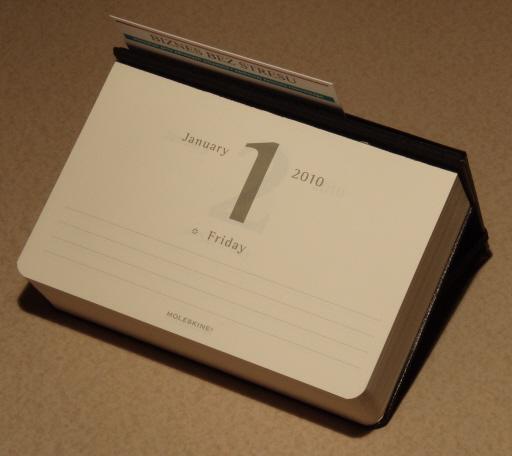 Moleskine Desk Calendar 1