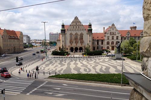 Poznański Zamek - Balkon