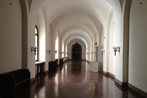Poznański Zamek - Korytarz