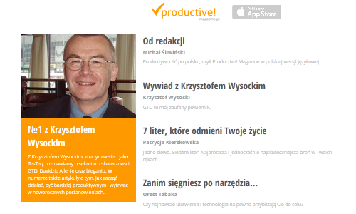 Productive! Magazine PL 1
