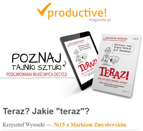 Teraz! Productive Magazine