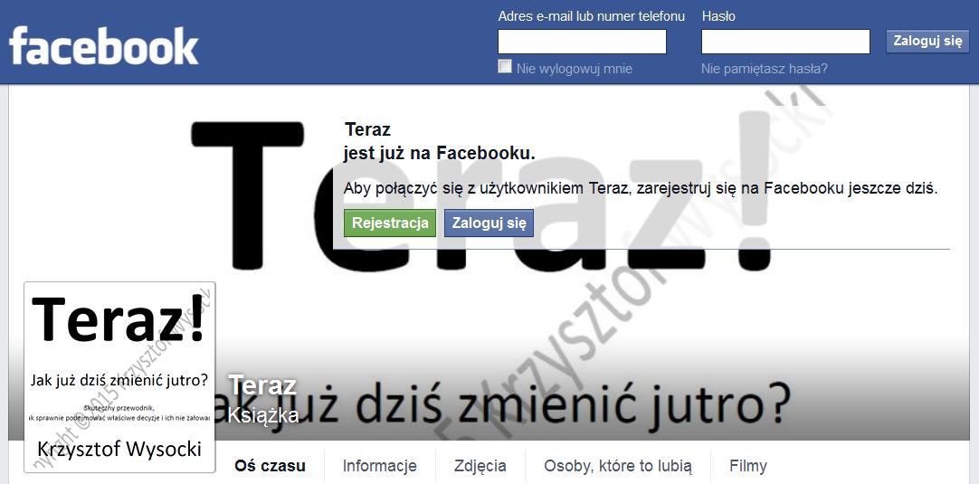 Teraz! na FB